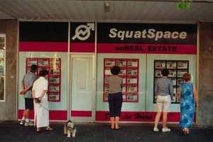 unreal estate SquatSpace